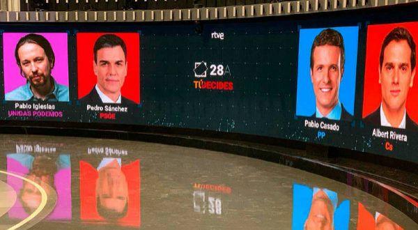 Encuesta: ¿Quién ha ganado el debate a cuatro de RTVE?